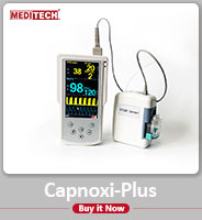 "Capmoxi capnography with external sidestreamCO2 sensor ""Et5"""